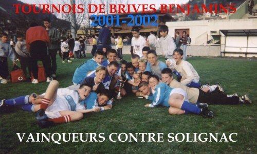 Revue de presse du club de l'AS Chadrac de 1997 à 2006.