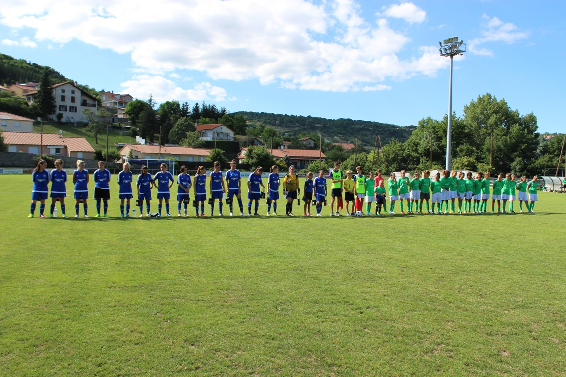 MATCH DE GALA FEMININ : ASSE U18 - SELECTION 43