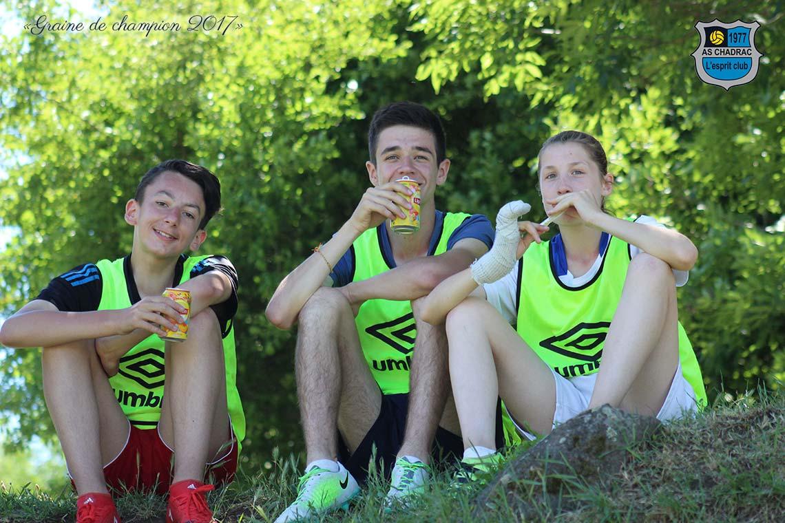 Tournoi Graine de Champion U13: le jeu
