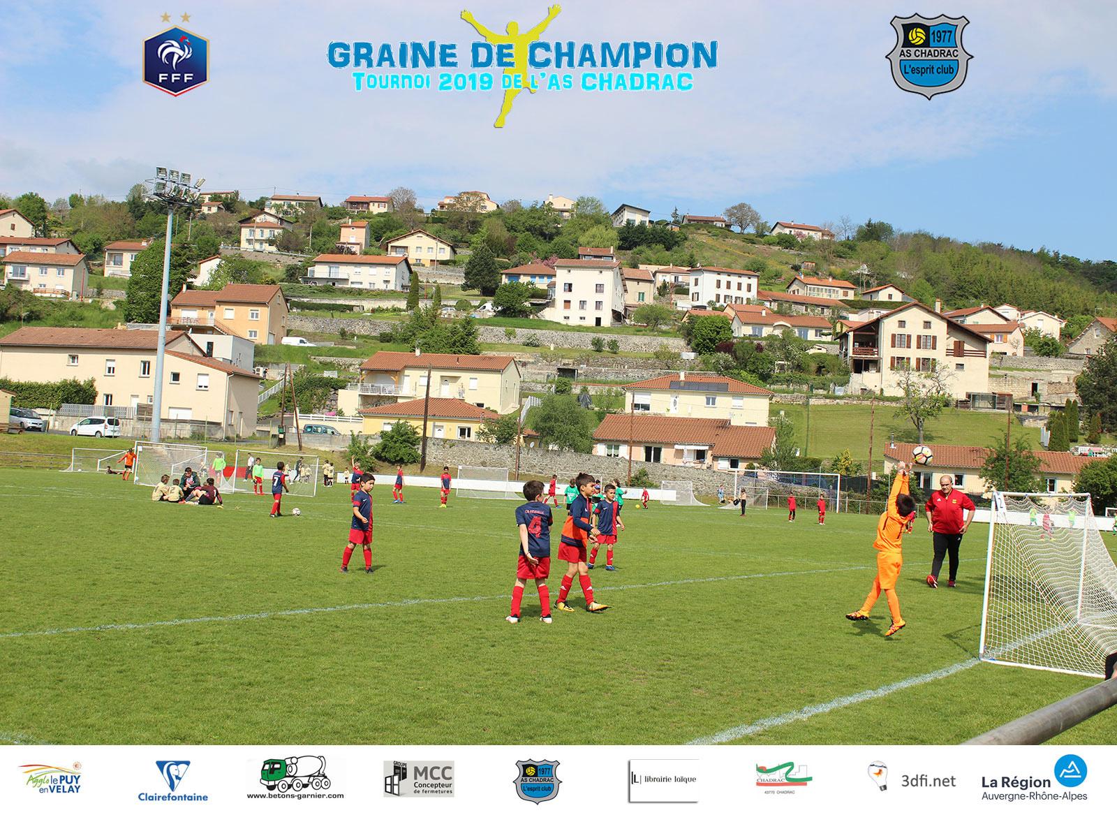 Tournoi graine de champion 2019 equipe u7 u9 jeu