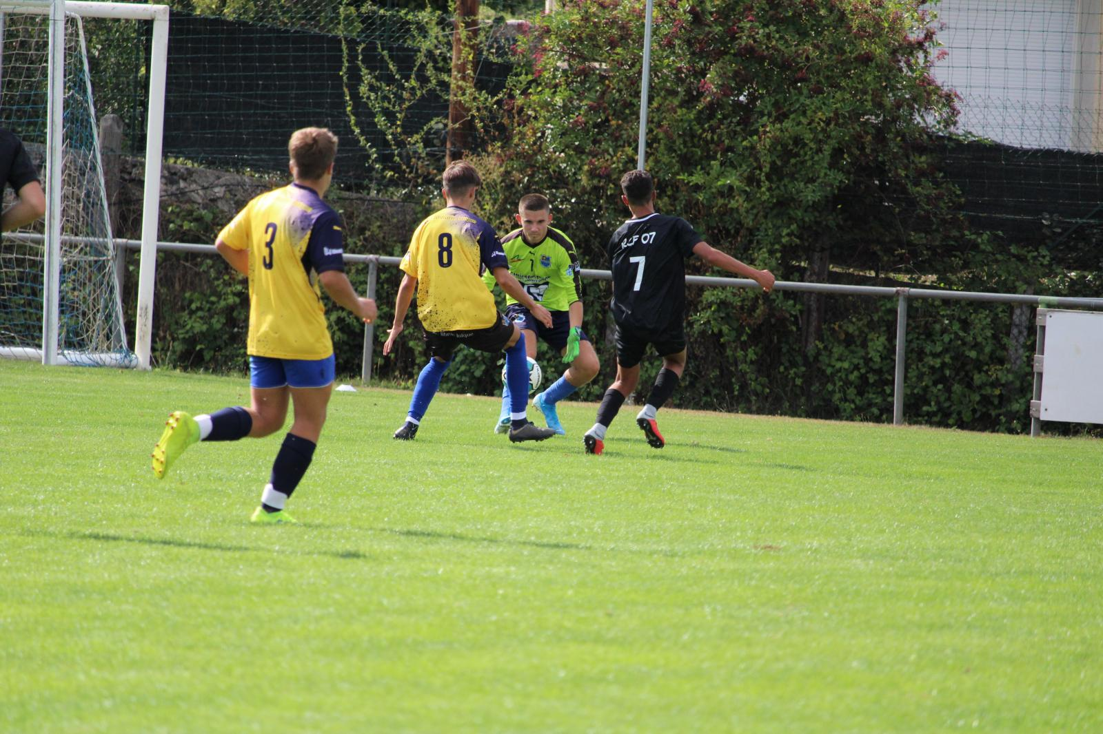 Match amical U18 Rhône CRUSSOL