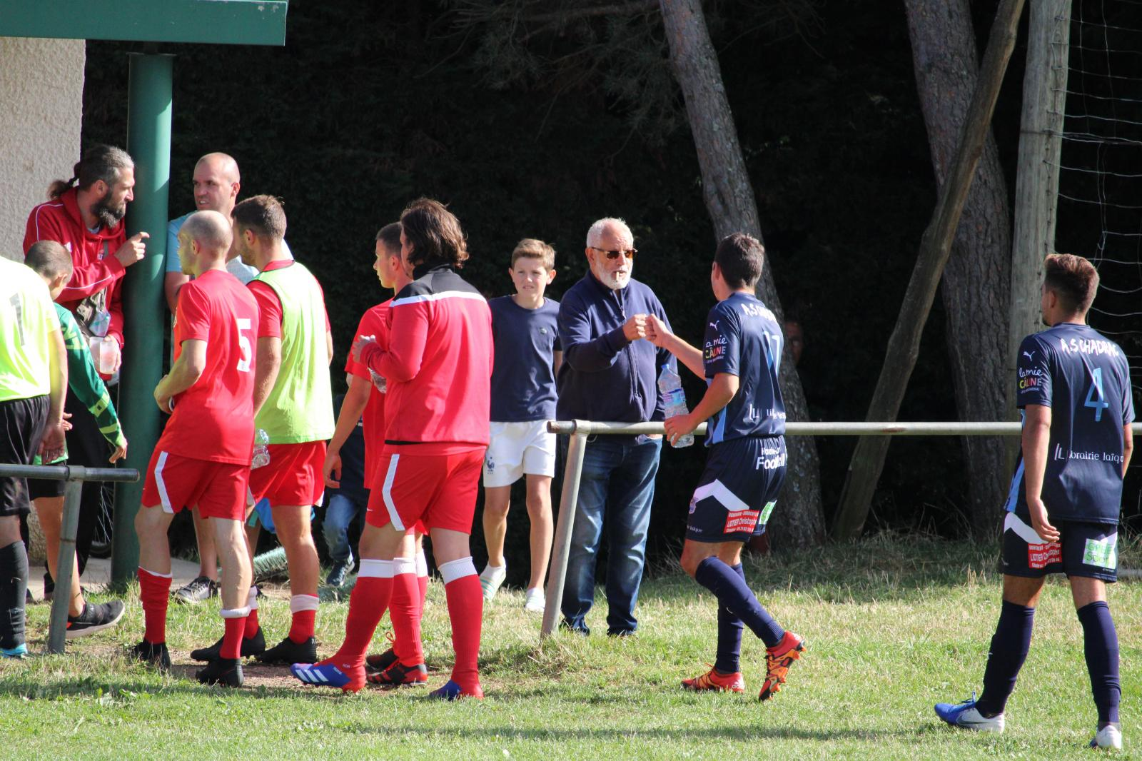 1er tour de Coupe de France contre Laussonne