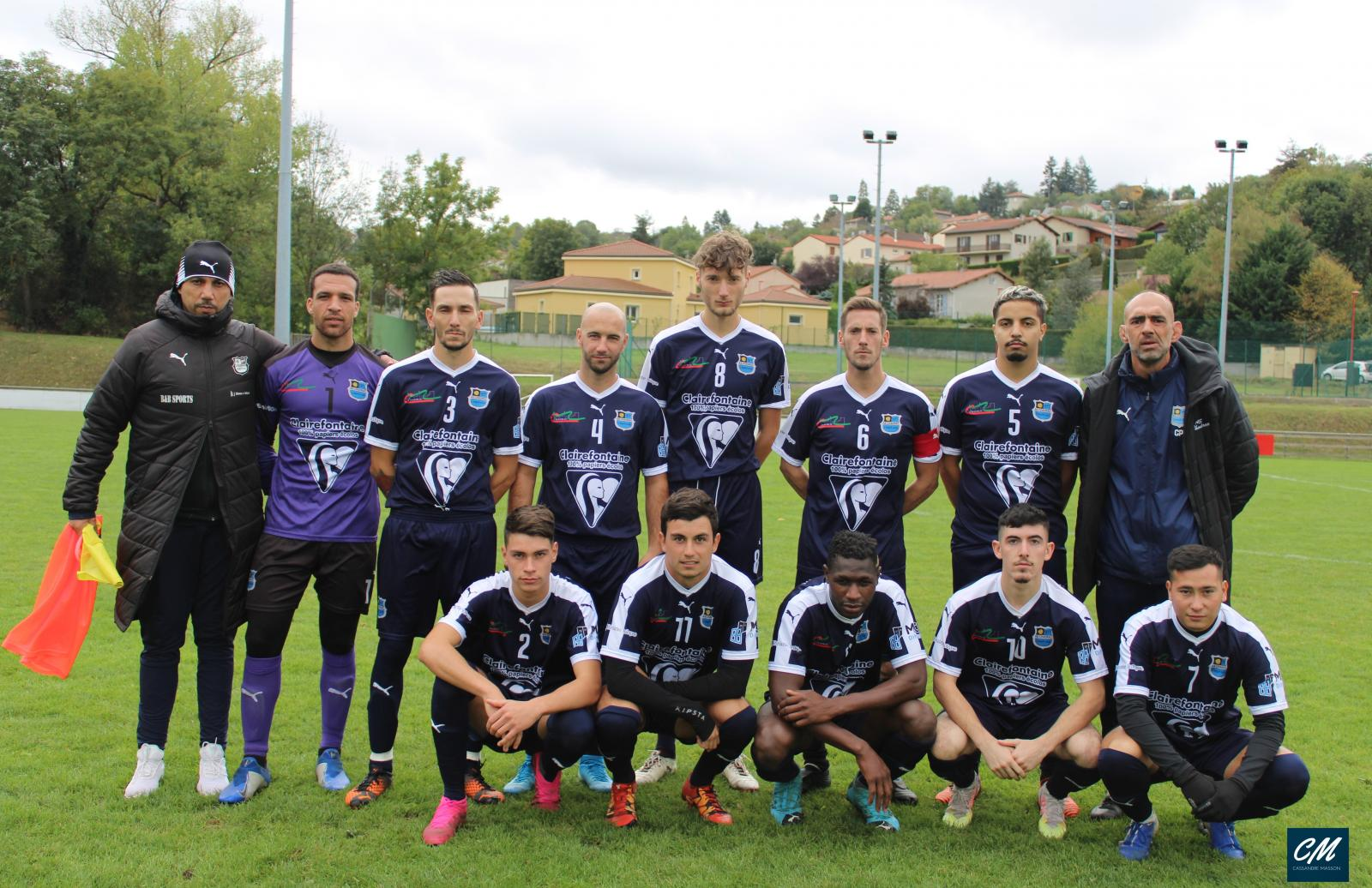 D1: Victoire de Chadrac B contre Blavozy B