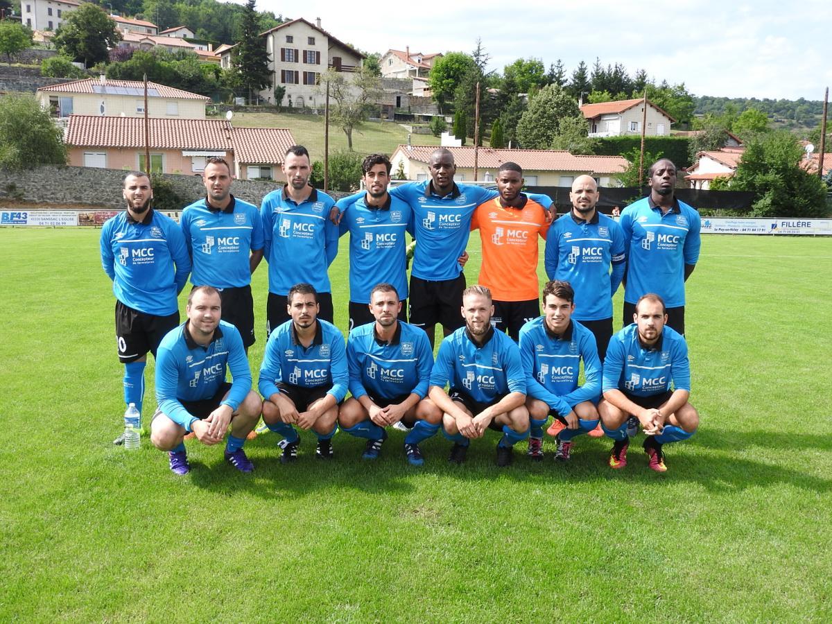 AS CHADRAC Seniors équipe de Régionale 2