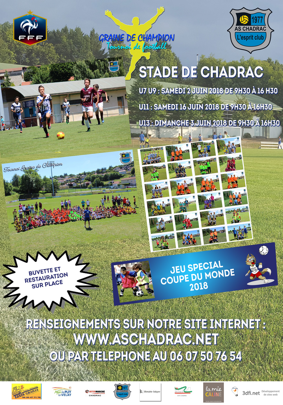 tournoi graine de champion 2018