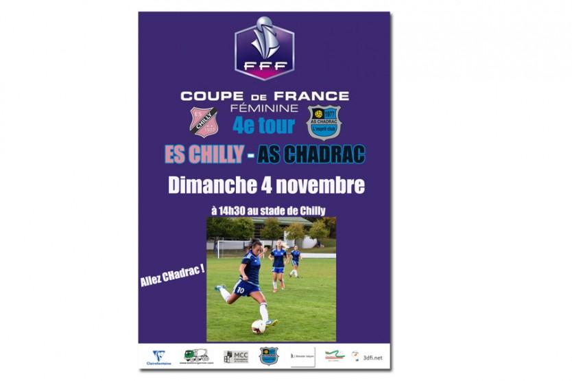 4e tour de coupe de France féminine : Chadrac