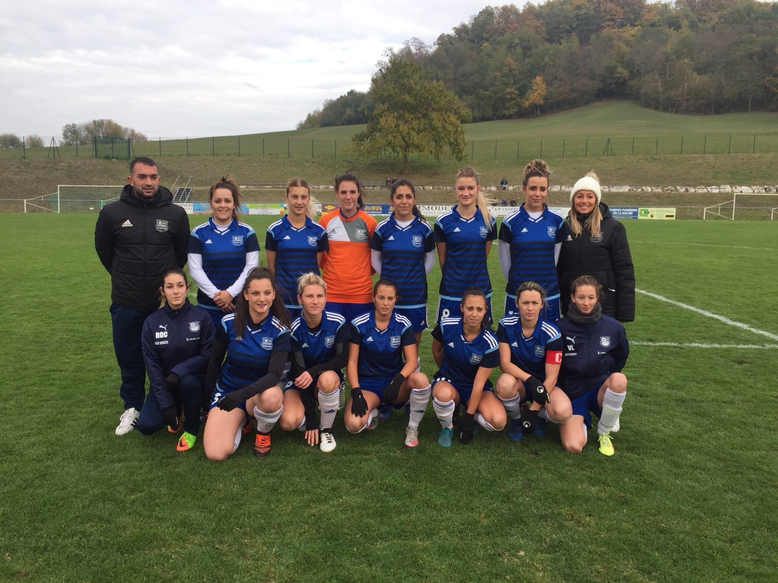 4e tour coupe de France féminine Chilly Chadrac