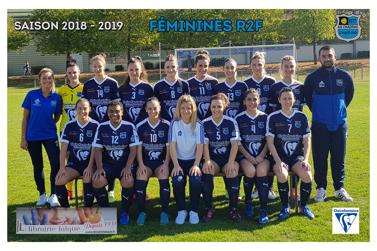 Equipes 2018 2019 r2f