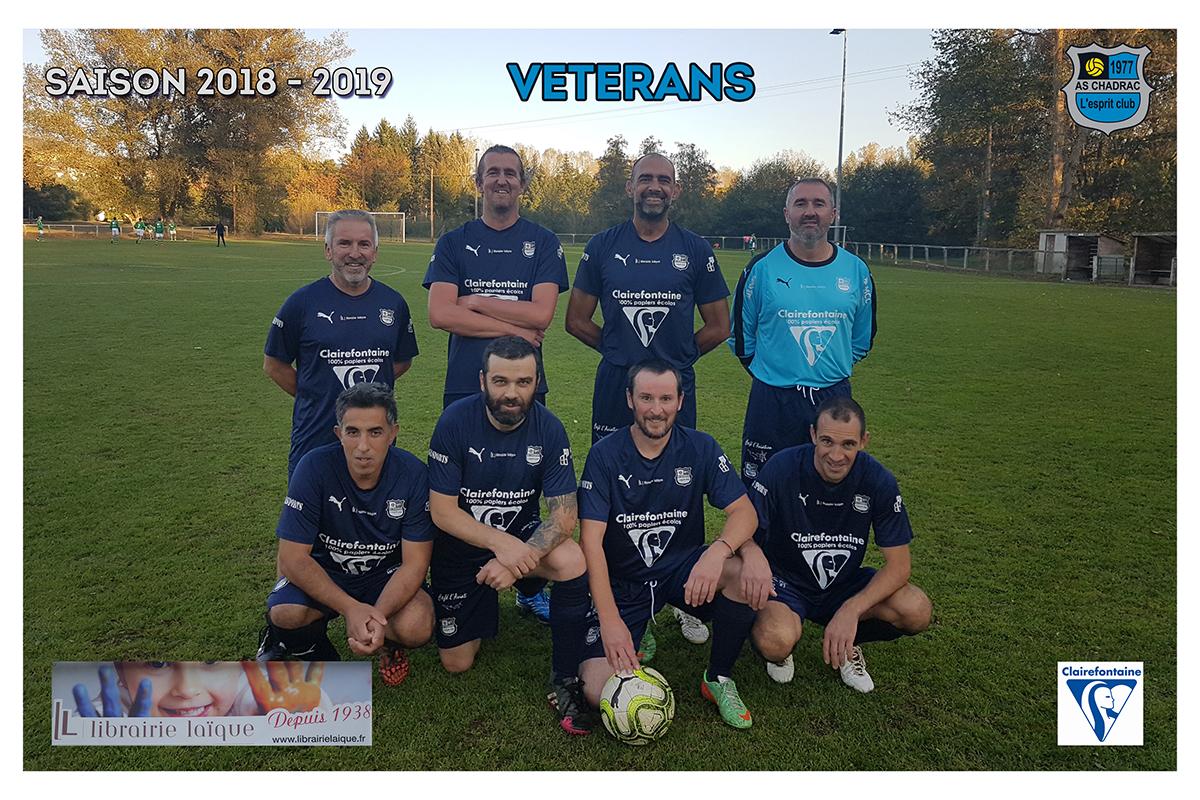 Equipes 2018 2019 veterans