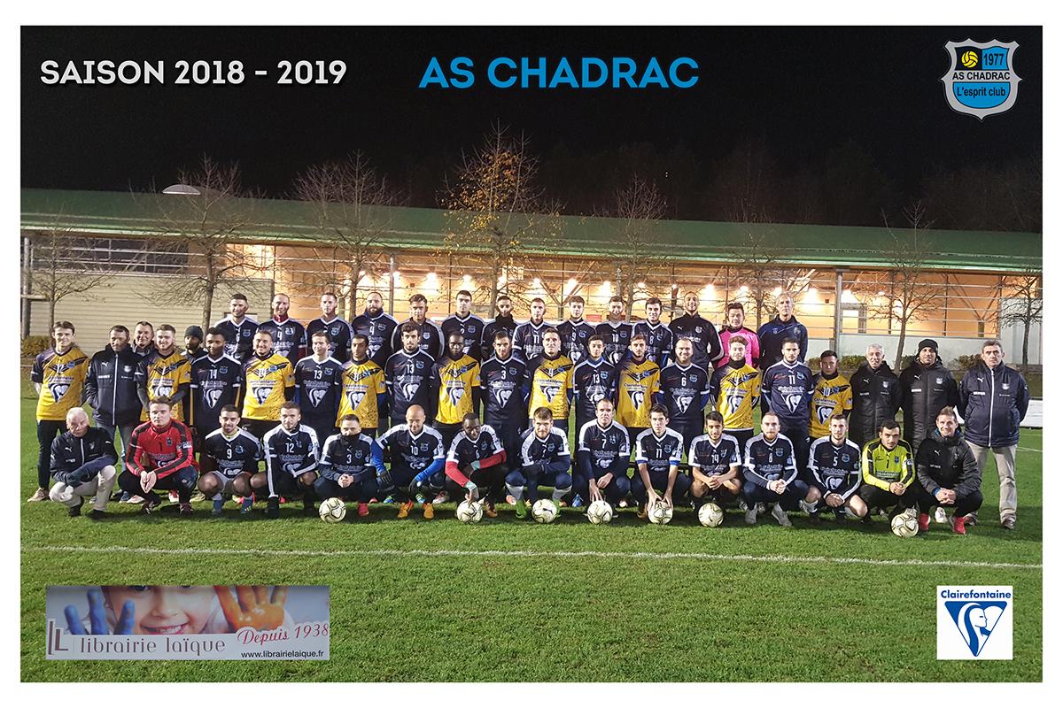 Equipes 2018 2019 seniors