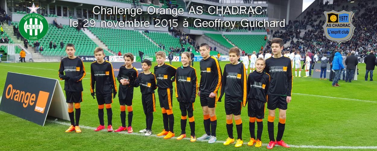 Challenge orange asse 2015 2016